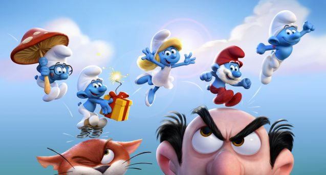 SMURFS THE LOST VILLAGE view conference 2017