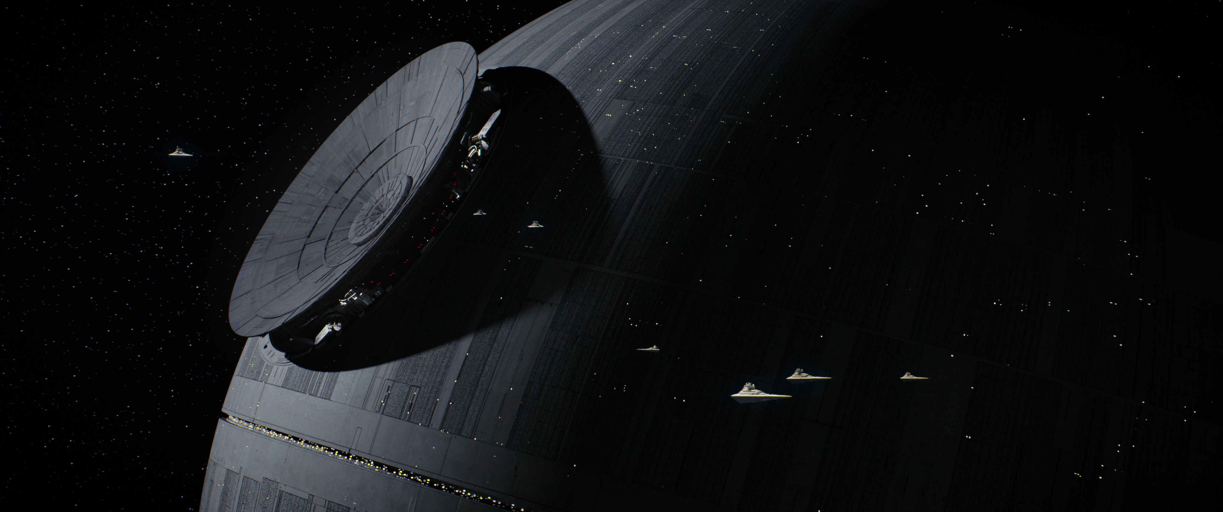 Rogue One: A Star Wars Story.Death Star